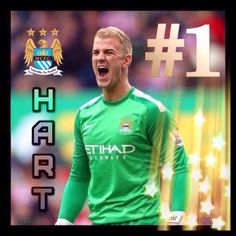 England's number 1 #mcfc #manchestercity Joe Hart Manchester City Wallpaper, Soccer, England, Graphic Sweatshirt, Wallpapers, Number, Collection, Cooking Food, Recipes