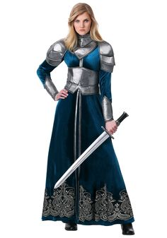 Our exclusive Women's Medieval Warrior Costume will bring out the gladiator within! Your suited up and ready for battle. Warrior Outfit, Female Warrior Costume, Warrior Princess Costume, Knight Outfit, Armadura Medieval, Fantasy Dress, Fantasy Outfits, Fantasy Costumes, Medieval Clothing