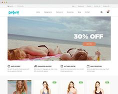 Getting inspired from hot and sexy swimsuit collections, Apollo now releases new Prestashop template, namely Ap Swimwear Prestashop Theme