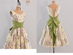 front and back of lovely dress
