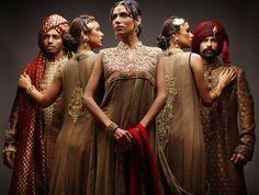Stylish Dresses 2014-15 For Girls at Pakistani Fashion Week by Deepak Perwani