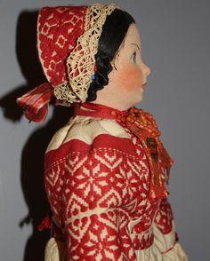 Vintage Cloth Doll from 'Croatia' | eBay