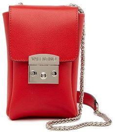 Valentino By Mario Valentino Amandine Leather Crossbody Bag. That's sooooo Cool!!! #bags #crossbodyandshoulderbag #shoulderbag #style #affiliatelink #shopstyle #mystyle
