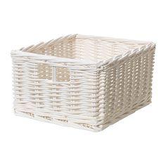 BYHOLMA  Basket, white  $6.99