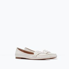 MOCCASIN WITH DECORATIVE BAND-Shoes-TRF-COLLECTION SS15 | ZARA United States