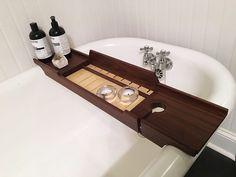Bathtub Tray made of Walnut and Holly - Album on Imgur