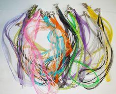 Organzaketten / Halskette