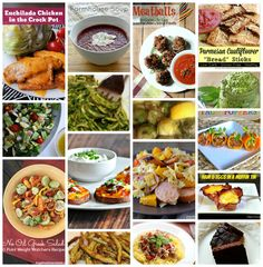 16 Low carb recipes round up
