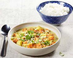 Oosterse curryschotel