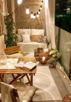Small Patio Ideas - One thing that many men and women love to have is a wonderful apartment balcony design. You might think that you will need a large space for trying a balcony design, but this is not completely required. Small Balcony Decor, Small Balcony Design, Tiny Balcony, Small Patio Ideas Townhouse, Small Outdoor Spaces, Small Balcony Furniture, Small Balconies, Balcony Plants, Patio Balcony Ideas