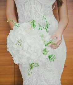 Vestido de noiva buquê