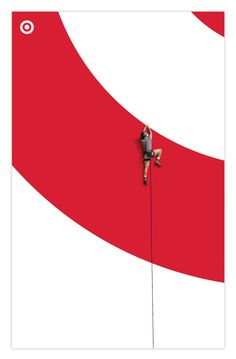 Branding initiative for Target by Allan Peters. Simple and bold.