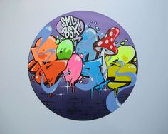 Graffiti on Vinyl (by Boogie, SML, Basel)
