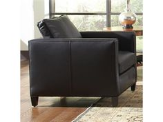 Shop+for+Stickley+Somerville+Chair,+96-9873-CH,+and+other+Living+Room+Chairs+at+Finesse+Furniture+&+Interiors+in+Edmonton,+Alberta+Canada.+Shown+in+leather.