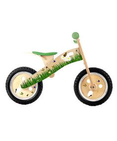 Eliminate the need for training wheels later! We are either getting one of these or a Strider...when we need one
