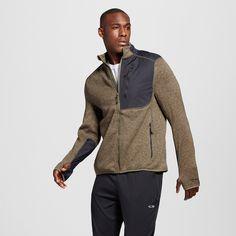 Men's Fleece Jacket Camouflage Green S - Champion Mens Fleece Jacket, Hooded Jacket, Fleece Jackets, Mens Big And Tall, Big & Tall, C9 Champion, Jacket Style, Camouflage, Zip