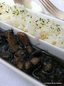 La Cocina de las Casinas: Calamares del Cantábrico en su Tinta con Arroz by Jose
