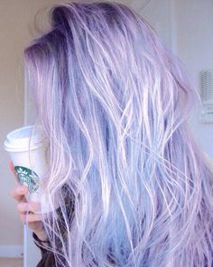 Such beautiful hair! If only I was brave enough to dye my hair. Violette Highlights, Coloured Hair, Dye My Hair, Mermaid Hair, Cool Hair Color, Hair Color Ideas, Rainbow Hair, Gorgeous Hair, Hair Looks