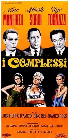Chroniques du Cinéphile Stakhanoviste: Les Complexés - I complessi, Dino Risi…