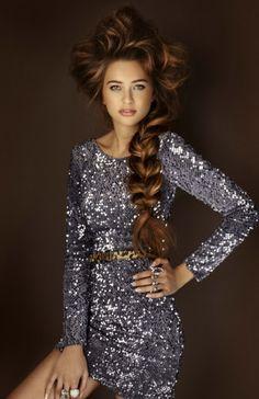 Rapunzel-style plait: De Lorenzo 'Femme Fatale' Novacolor Winter Collection #hair