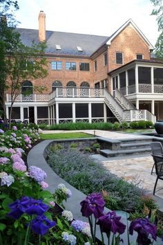 oh to have that many screened in porches ~ Anthony Cusat, McHale Landscape Design.