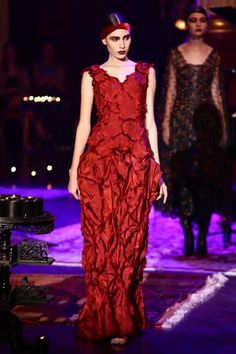 Frank Sorbier Couture Fall Winter 2014 Paris