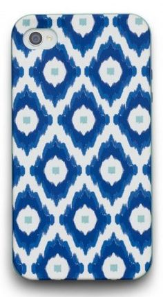 Ikat iPhone Case I like the simple pattern.