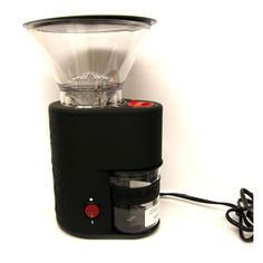 BODUM Conical Burr Coffee Grinder - the king of grinders : ON SALE $109.95