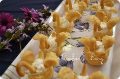 cigni in pasta choux