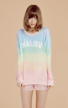 ($118) Malibu Sunscreen Baggy Beach Jumper