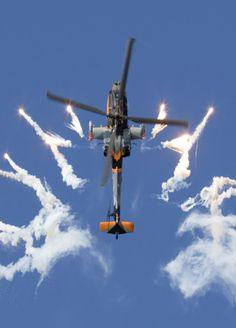 Royal Netherlands Air Force AH-64D Apache