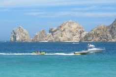 """""""Riding the Big Banana"""" - Los Cabos, Mexico.  Photo by Stacy Alynn."""
