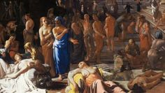 Vechii greci s-au imbolnavit de ebola