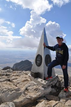 The highest peak and cache in Texas!
