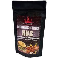 Poppamies Burger & Ribs RUB