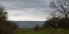 Nymölla Paper-mill in the horizone by peterliendeborg från Sillnäs