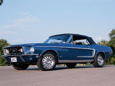 1968 Ford Mustang GT (convertible)...my dream car!!!