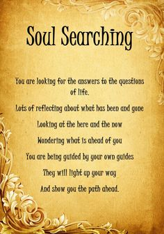 soul searching images | soul searching