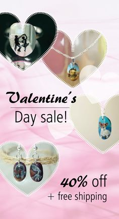 Treat yourself to a little Valentine's Day gift! Visit the shop to grab some hand painted jewelry and make this Valentine's your best yet 😉