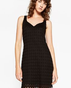 ZARA - WOMAN - SHORT CROCHET DRESS
