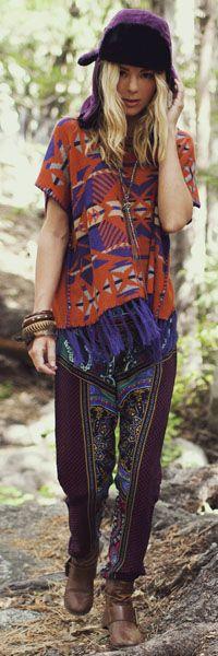 Vintage-Inspired Bohemian Fashion!