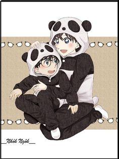 --Conan and Ran Mori--