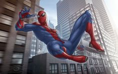 The Amazing Spider-man by Patrick Brown!
