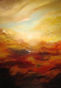 A Piece of M.E. Abstract Art from Michael Monroe Art