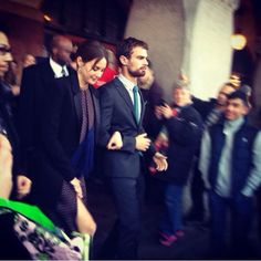 On their way to the premiere! #insurgent #movie