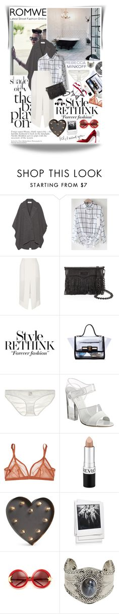 """""""She's classic"""" by lseed87 ❤ liked on Polyvore featuring Chalayan, Dion Lee, Rebecca Minkoff, Only Hearts, Prada, Eres, Revlon, BESTTIME, Polaroid and Wildfox"""