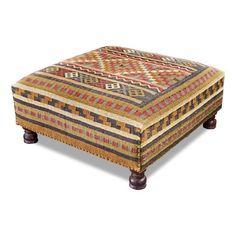 Interlude Home 174802 High Plains Ottoman | ATG Stores