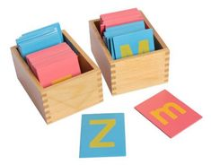 Handwriting help for kids: Sandpaper letters