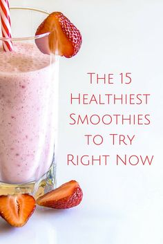 Smoothies are a great way to increase your daily intake of fruits and vegetables. Whether you enjoy smoothies for dessert or breakfast, smoothies can quickly boost your energy. A good, healthy smoothie contains a blend of healthy ingredients #smoothies #healthy #drink #haelthyliving #healthiestsmoothies #recipes
