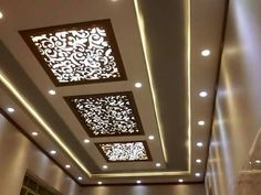 faux plafond salon moderne ADM plus Kitchen Ceiling Design, Gypsum Ceiling Design, Interior Ceiling Design, House Ceiling Design, Ceiling Design Living Room, Bedroom False Ceiling Design, False Ceiling Living Room, Ceiling Light Design, Home Room Design